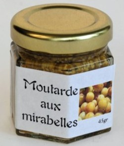 moutarde mirabelles
